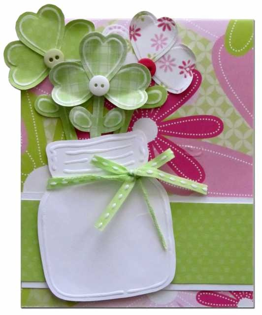 Cute St. Patty's Day card or can be used for  bithday @ Lasting Impressions