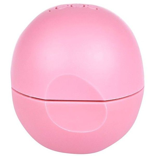 EOS strawberry sorbet lip balm (£12) ❤ liked on Polyvore featuring beauty products, skincare, lip care, lip treatments and eos
