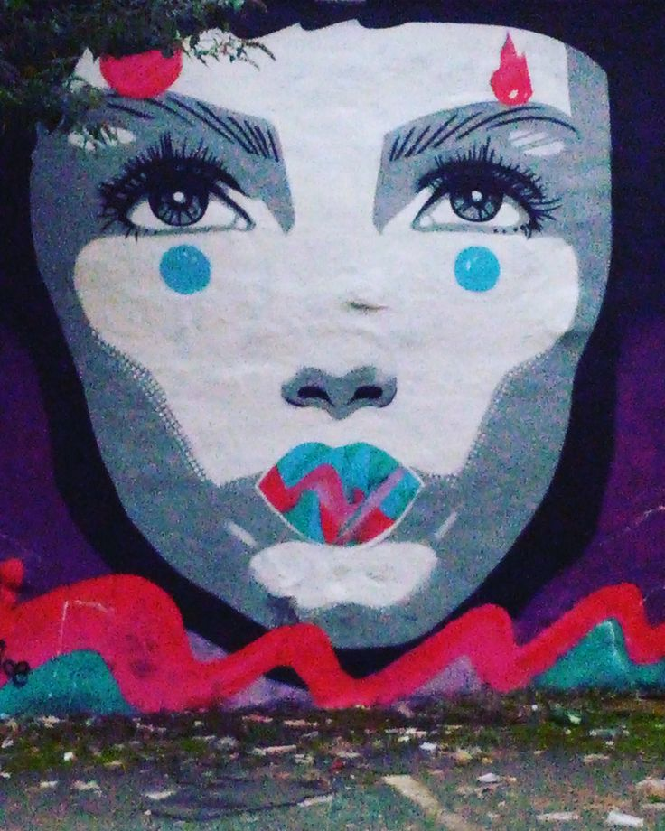 Street Art by Jess Tobin aka Novice painted in Belfast for Hit the North 2016