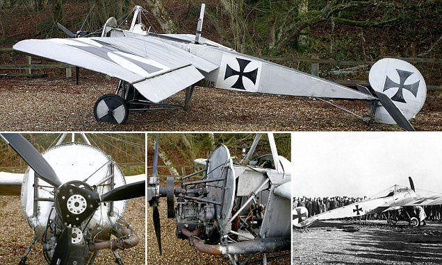 ICYMI: WWI plane replica with Reliant Robin engine for sale