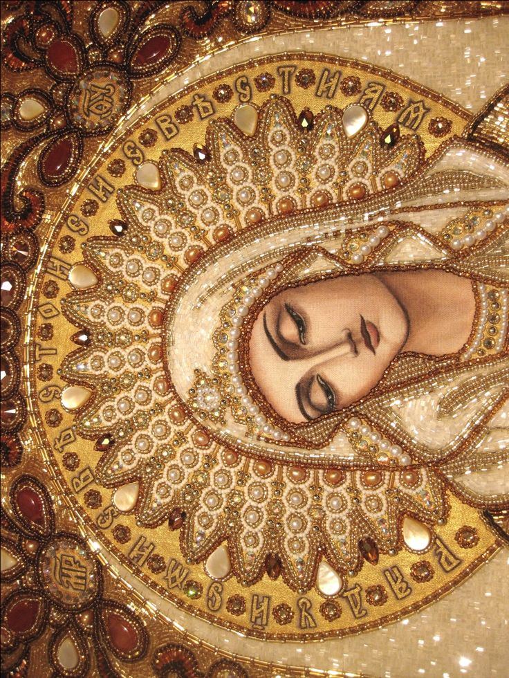 Orthodox Arts Journal - painting, bead embroidery