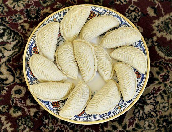 AZ Cookbook - Food From Azerbaijan & Beyond » Shekerbura - Making a Novruz Dessert Step by Step