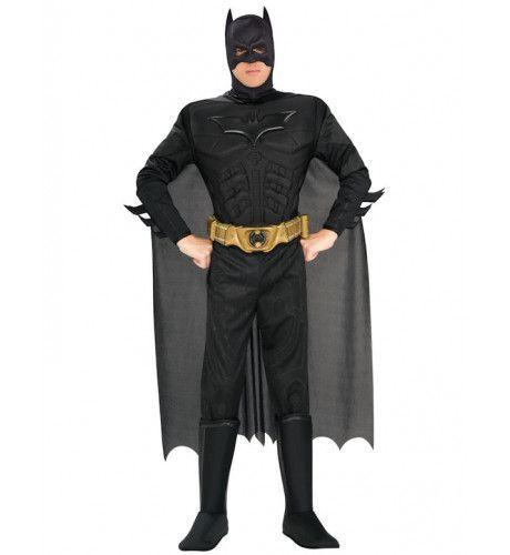 Luxe Duistere Ridder Batman Superheld Man Kostuum - Feestkleding 365