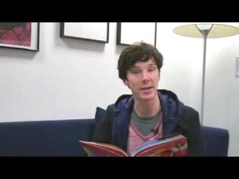 Benedict Cumberbatch just read me a bedtime story. This man...Im dead. I died...some lucky bitch is gonna have his lucky children!!! lol