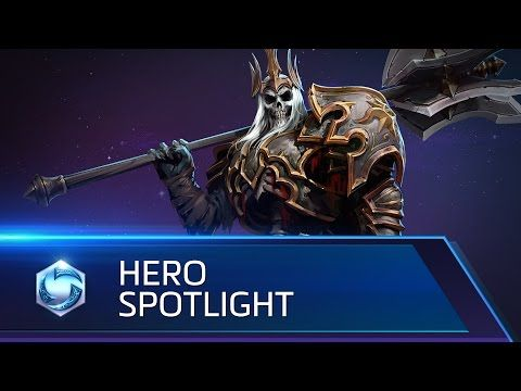 Leoric Spotlight – Heroes of the Storm - YouTube