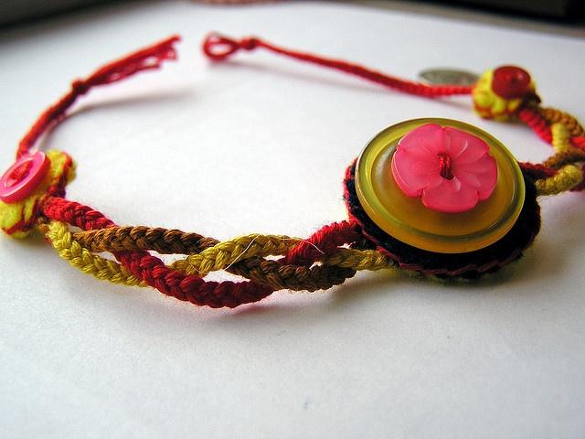 Ideas about embroidery thread bracelets on pinterest