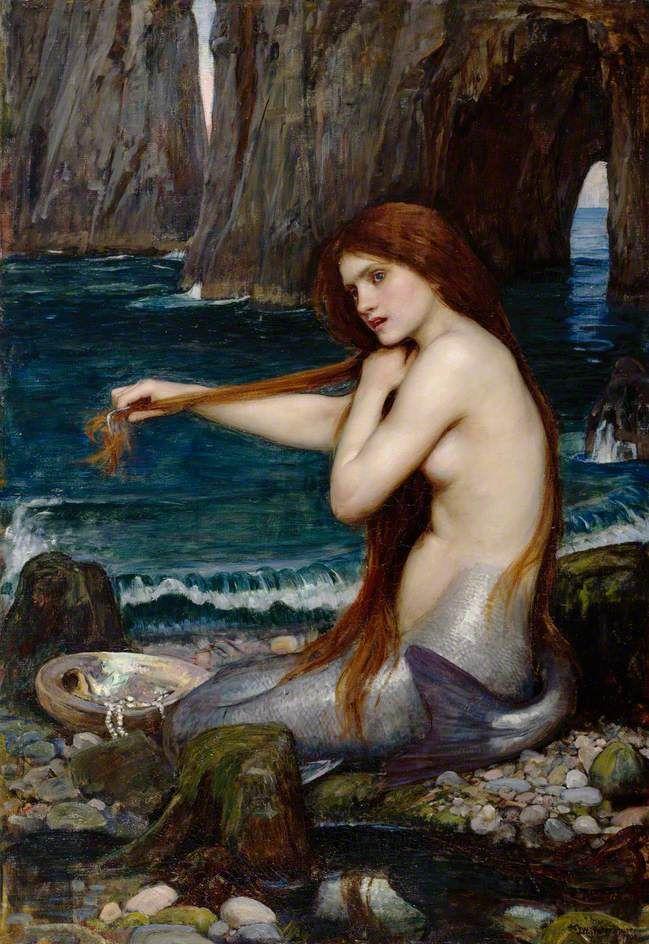 John William Waterhouse A Mermaid - John William Waterhouse - Wikipedia, the free encyclopedia