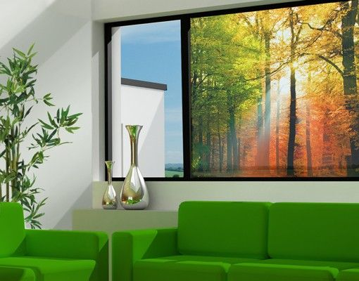 Fensterfolie - Sichtschutz Fenster...