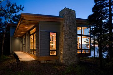 Modern Exterior Photos Design, Pictures, Remodel, Decor and Ideas - page 3