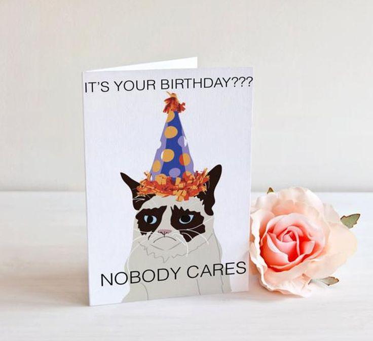 Grumpy Cat Birthday Youtube: 1000+ Ideas About Grumpy Cat Birthday On Pinterest