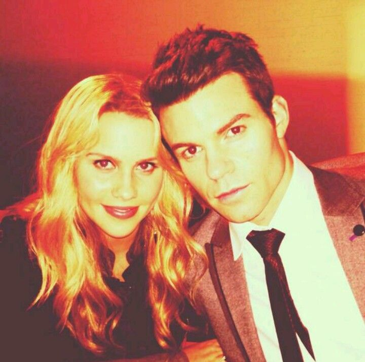 Claire Holt and Daniel Gillies | ~ The Originals ...