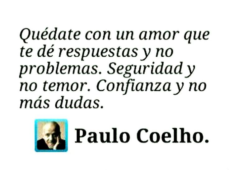 Frases De Paulo Coelho: QUOTES ♥ ESPAÑOL