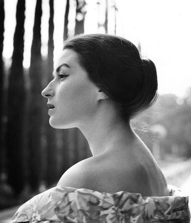 Silvana Mangano, 1950, photo by Peter Basch