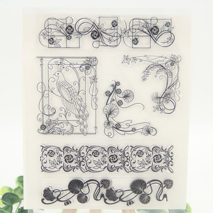 Find More Stamps Information about Flowers Transparent Clear Silicone Stamp/Seal for DIY scrapbooking/photo album Decorative clear stamp sheets,High Quality stamped embroidery,China stamp seal maker Suppliers, Cheap seal plug from ZFPARTY Handcraft Store on Aliexpress.com