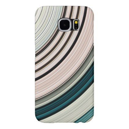 Abstract Green Rings Samsung Galaxy S6 Case - #customize create your own personalize diy