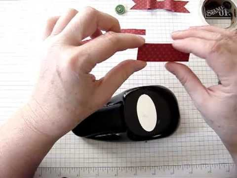 How to make Paper Faux Bows with Stampin' Up Punches.mp4