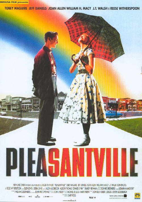 電影 九十後 一人有一點顏色 歡樂谷 movie art literature pleasantville 成長 改變 toby maguire twentysomething