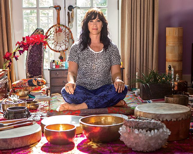 shared elements of my essential oil collection, altar, spiritual practice and grooming world…so fun to invite peeps to peak behind the curtain of self-care. xo