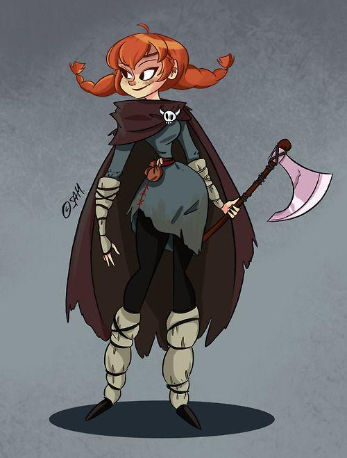 reaver [Viking Gal by Samantha Germaine Sim]