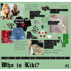 Who is Kiki? #1