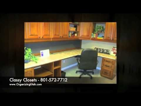 Utah Closets Builders   Classy Closets   YouTube Commercial Offices,  Garages, Home Offices, And Much More. | Commercial Offices | Pinterest
