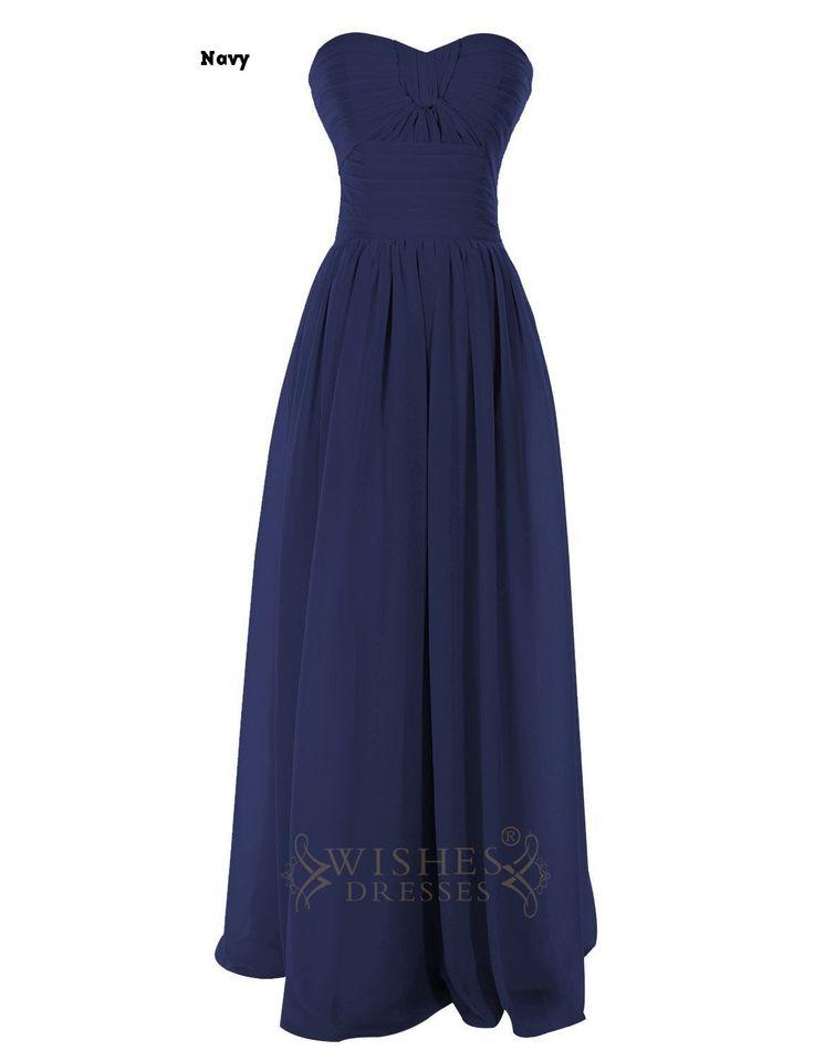 Empire Light Pink Criss-cross Floor Length Bridesmaid Dress /Evening Dress Am44