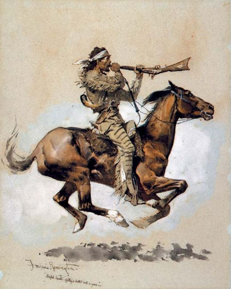 frederick remington prints | EXHIBITION: Treasures From the Frederic Remington Art Museum - Quick ...