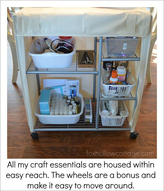 156 best images about diy storage and organization on for Cheap craft room storage ideas