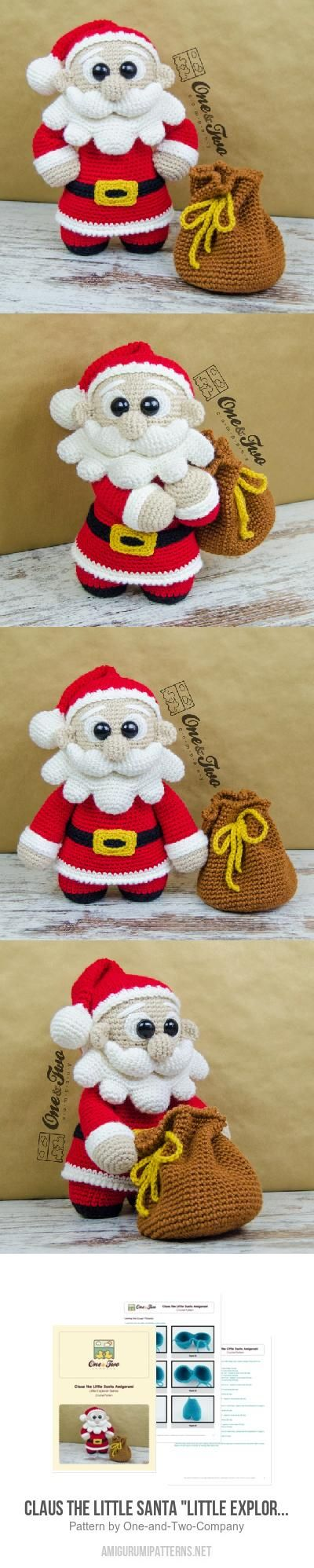 "Claus The Little Santa ""Little Explorer Series"" Amigurumi Pattern"