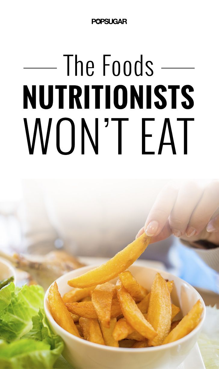 The foods all nutritionists agree you should avoid.