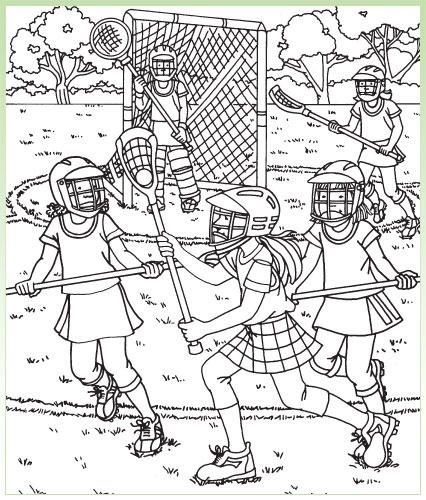 hidden pictures printables for teachers from highlights lacrosse game