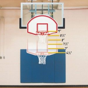 Bison Easy-Up™ Youth Mini Goal - 6-in-1 Adjustable Goal For over 25 years, Easy-Up has put the rim within reach and helped to teach aspiring young basketball players proper shooting technique.  Equipment with official 10′ goal height can be converted in less than five minutes with no use of tools.