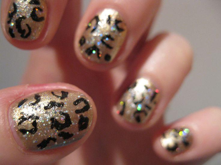 Uñas decoradas animal print – 50 nuevos ejemplos | Decoración de Uñas - Manicura y Nail Art - Part 5