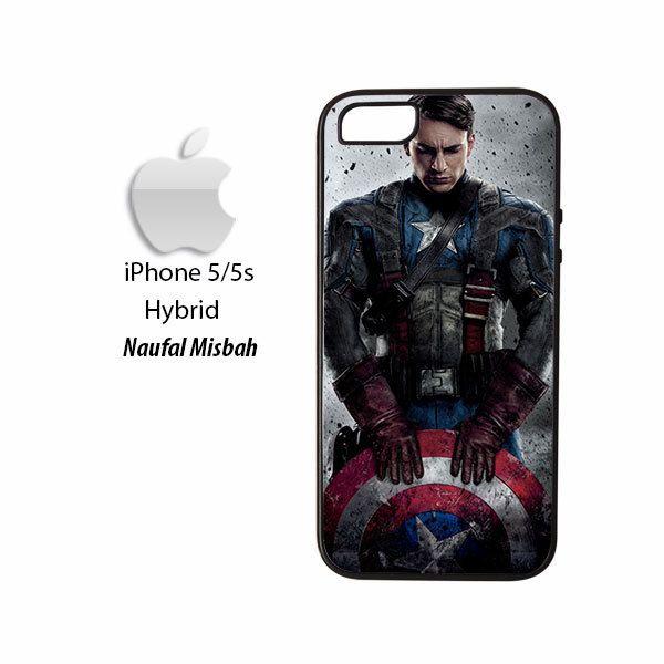 Captain America Avengers iPhone 5/5s HYBRID Case