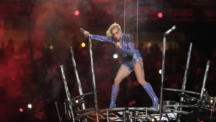 Take a look at Lady Gaga's performance at the Super Bowl LI halftime show at the NRG Stadium in Houston, Texas, U.S., on Feb. 5, 2017.