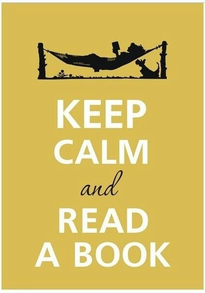 Reading is a great escape when you need one!