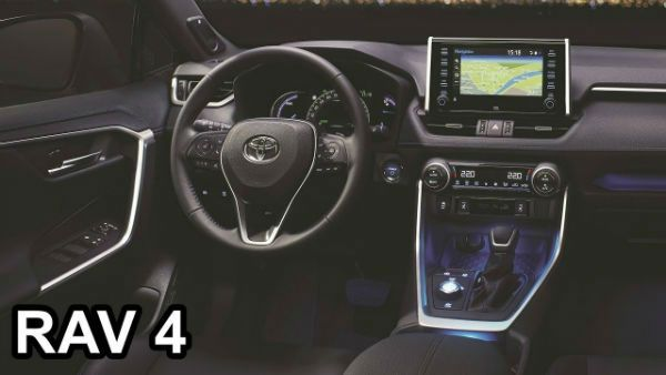 Toyota Rav4 2019 Interior In 2020 Toyota Rav4 2019 Toyota Rav4 Toyota