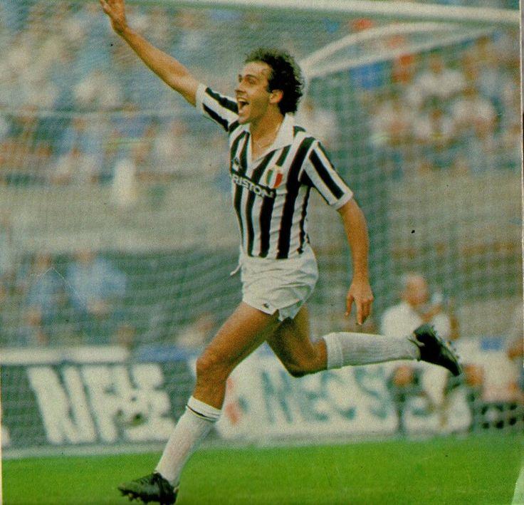 Michel Platini of Juventus in 1983.