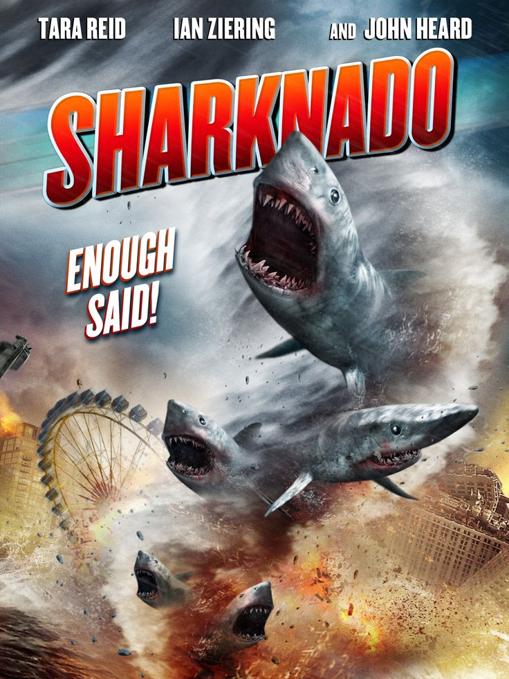 Free HD or 4K copy of the cinematic masterpiece Sharknado [FandangoNow] (8/4/17 until 11:59pm PST)