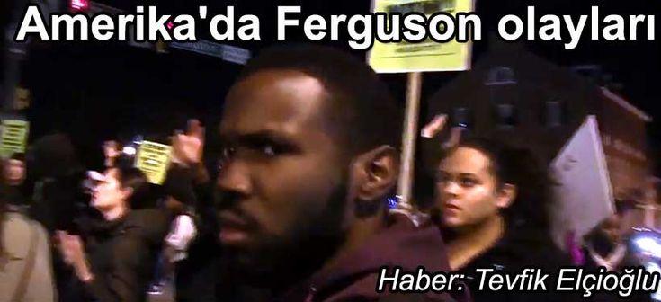 Amerika'da Ferguson olayları ve protestoları  #Ferguson #FergusonDecision #FergusonSyllabus #FergusonResponse #FergusonProtest