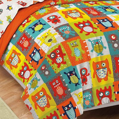 Dream Factory Silly Monsters Bed in a Bag Set $45