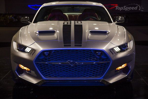 #Ford Mustang Rocket by Henrik Fisker and Galpin Auto Sports
