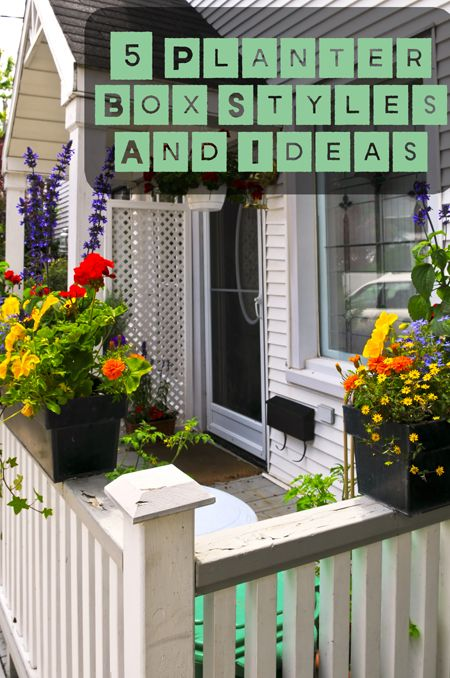How to build a flower box for deck railing woodworking projects plans - Flower boxes for railings ...