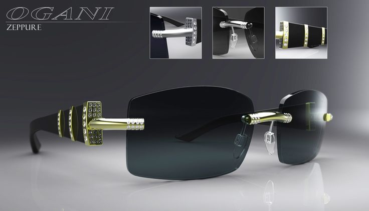 Eyewear design, CAD, and 3D Rendering for Ogani Eyewear