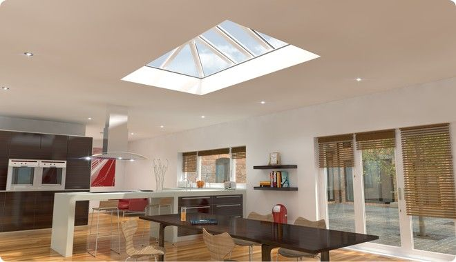 Eurocells Skypod Flat Roof Skylight House Inspiration
