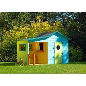 Safari houten speelhuis IJsbeer