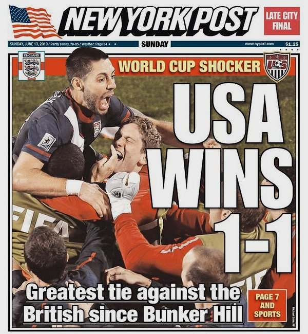 "USA soccer team ""wins."""