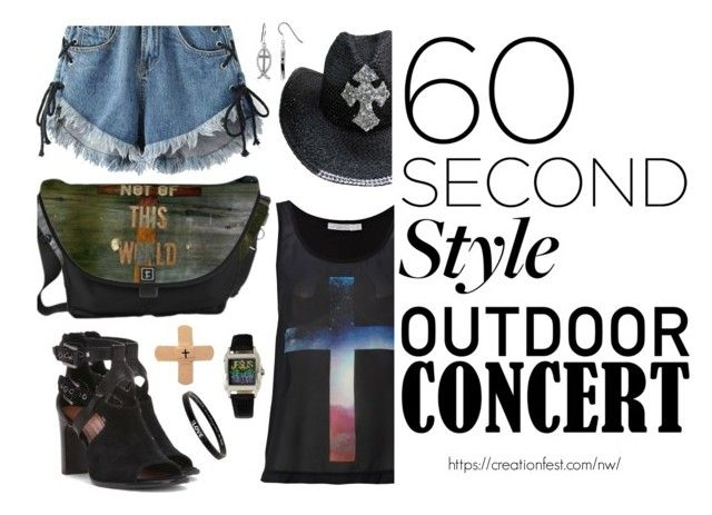 """""""Creation Fest Northwest"""" by spicedblossom ❤ liked on Polyvore featuring Ginger Fizz, WithChic, Monsieur, Donald J Pliner, Peace Love World, BERRICLE, 60secondstyle and outdoorconcerts"""