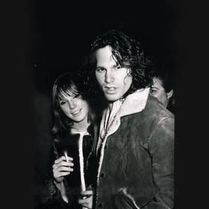 Jim Morrison and Pamela Courson 1967                              …