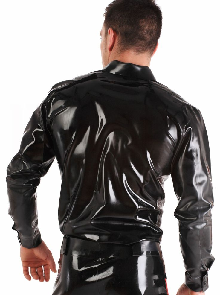 Latex Rubber Shirt in Rubber For Men by Honour Clothing ...
